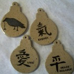 Stencilled Ornaments