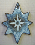 Ornament Mor Star