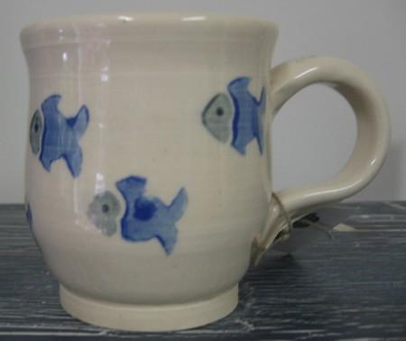 Stencilled Mug
